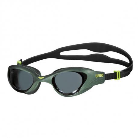Plavecké okuliare ARENA-THE ONE SMOKE-DEEP GREEN-BLACK