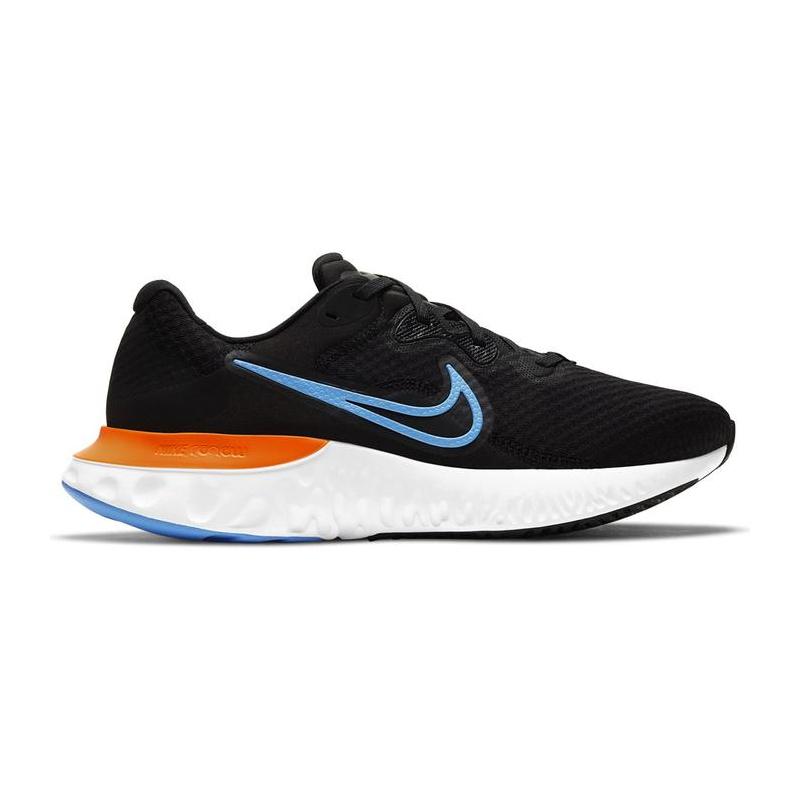 NIKE-Renew Run 2 black/orange/white (EX) 46 Čierna