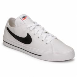 Pánska rekreačná obuv NIKE-Court Legacy Canvas white/black