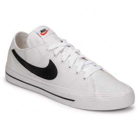 Pánská rekreační obuv NIKE-Court Legacy Canvas white / black