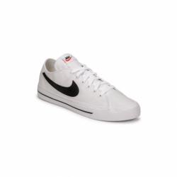 Pánska rekreačná obuv NIKE-Court Legacy Canvas white/black (EX)