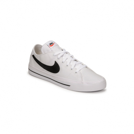 Pánská rekreační obuv NIKE-Court Legacy Canvas white / black (EX)