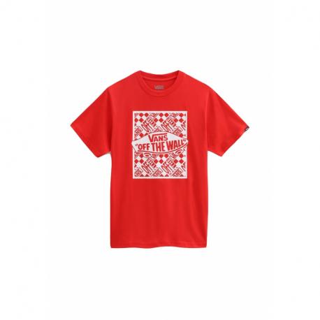 Chlapčenské tričko s krátkym rukávom VANS-BY OTW REPEAT SS HIGH RISK