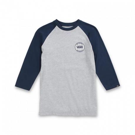 Chlapecké triko s dlouhým rukávem VANS-BY AUTHENTIC CHECKER RAGLAN BOYS ATHLETIC