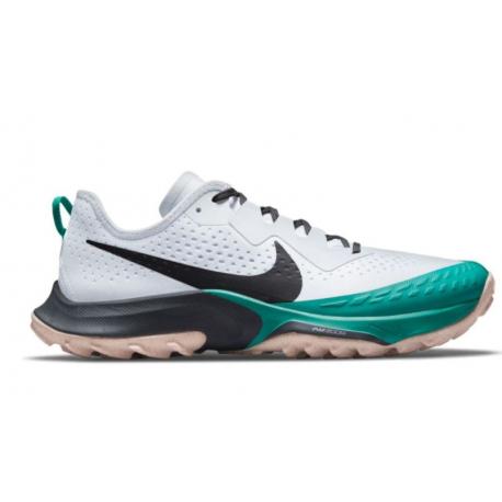 Dámská běžecká trailová obuv NIKE-Air Zoom Terra Kiger 7 football grey / ghost / iron grey / black