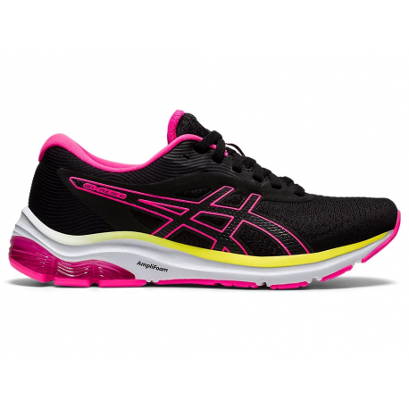Dámská běžecká obuv ASICS-Gel Pulse 12 black / pink (EX)