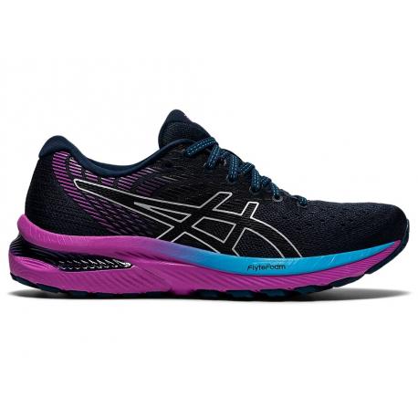 Dámská běžecká obuv ASICS-Gel Cumulus 22 W french blue / black (EX)