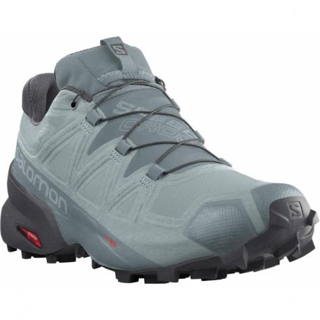 Pánska bežecká trailová obuv SALOMON-Speedcross 5 GTX slate/trooper/ebony