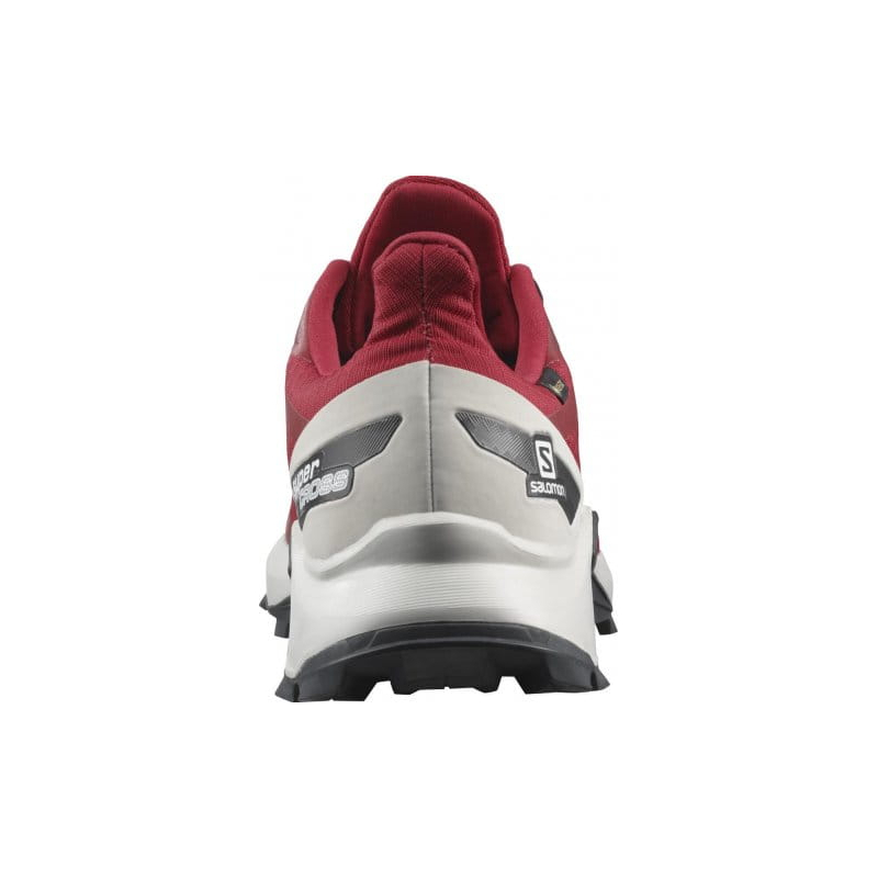 Pánska bežecká trailová obuv SALOMON-Supercross Blast GTX chili/lunroc -