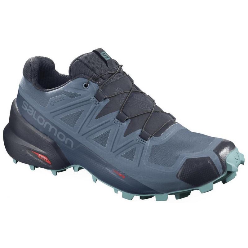 Dámská běžecká trailová obuv Salomon-Speedcross 5 GTX W COPEN blue / navy blazer / MEADOWBROOK 38 2/3 Modrá