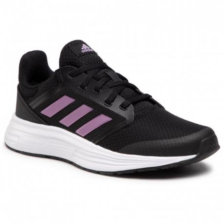 Dámská sportovní obuv (tréninková) ADIDAS-Galaxy 5 core black / cherry metallic / cloud white