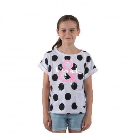 Dívčí tričko s krátkým rukávem AUTHORITY KIDS-EIMMY G II_DS white