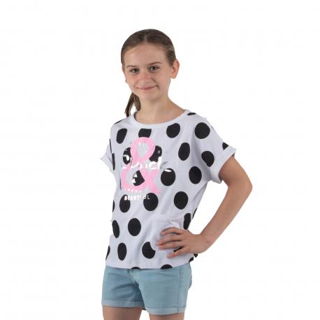 Dievčenské tričko s krátkym rukávom AUTHORITY KIDS-EIMMY G II_DS white