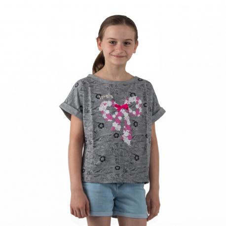 Dívčí tričko s krátkým rukávem AUTHORITY KIDS-EIMMY G I_DS grey