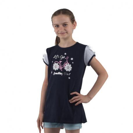 Dievčenské tričko s krátkym rukávom AUTHORITY KIDS-SUNSET G II_DS blue