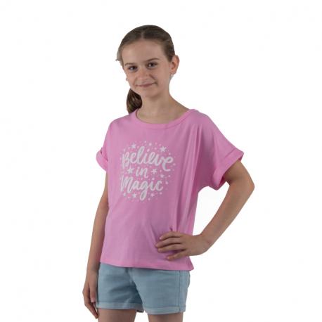 Dievčenské tričko s krátkym rukávom AUTHORITY KIDS-EIMMY G I_DS pink