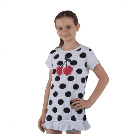 Dievčenské tričko s krátkym rukávom AUTHORITY KIDS-EISTY G_DS white