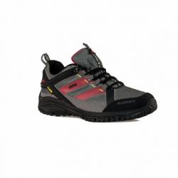 Pánska nízka turistická obuv EVERETT-Tournet grey/red (EX)