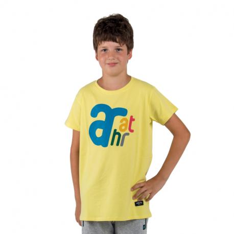 Chlapecké tričko s krátkým rukávem AUTHORITY-T-BRANDIK_yellow