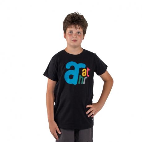 Chlapecké tričko s krátkým rukávem AUTHORITY-T-BRANDIK_black
