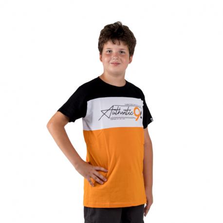 Chlapčenské tričko s krátkym rukávom AUTHORITY KIDS-X-CHANGE B_DS yellow