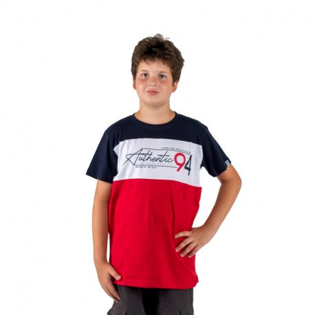 Chlapčenské tričko s krátkym rukávom AUTHORITY KIDS-X-CHANGE B_DS red