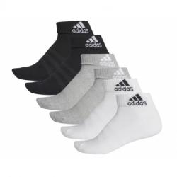Ponožky ADIDAS-CUSH ANK 6PP-Mix-6 pack