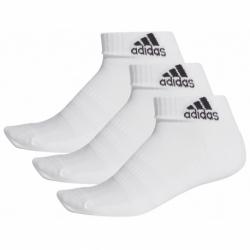 Ponožky ADIDAS-CUSH ANK 3PP-White-3 pack
