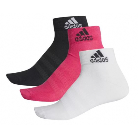Dámské ponožky ADIDAS-LIGHT ANK 3PP-Mix-3 pack