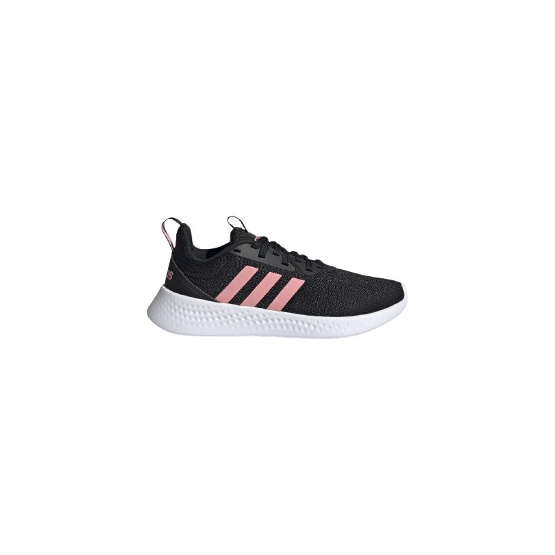 Dětská sportovní obuv (tréninková) ADIDAS-Puremotion core black / super pop / cloud white -