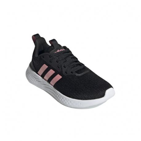 Dětská sportovní obuv (tréninková) ADIDAS-Puremotion core black / super pop / cloud white