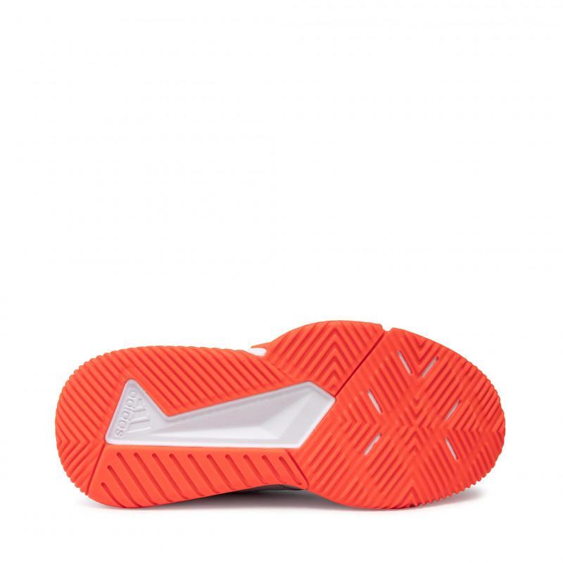 Pánska halová obuv ADIDAS-Court Team Bounce ftwwht/cblack/solred (EX) -