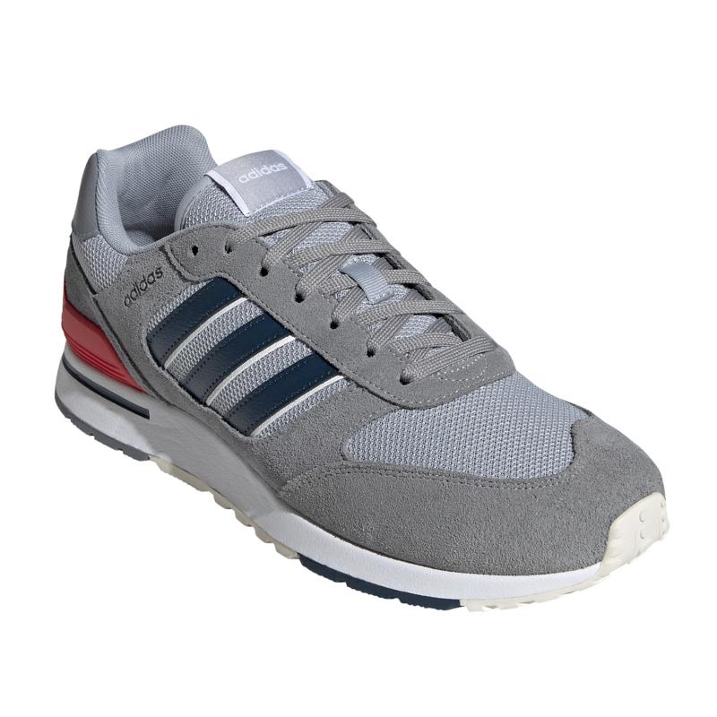 ADIDAS-Run 80s grey/crew navy/halo silver (EX) 46 Šedá