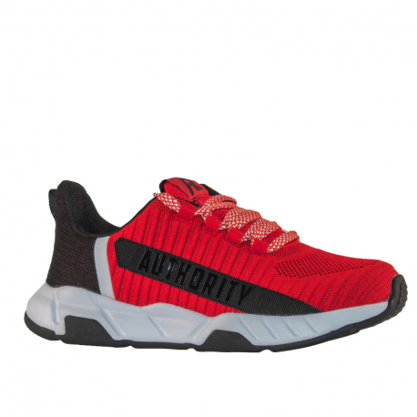 Juniorská rekreačná obuv AUTHORITY-GoYe red/black/white