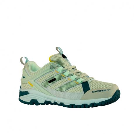 Dámska nízka turistická obuv EVERETT-Tournet W light green/yellow