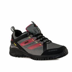 Pánska nízka turistická obuv EVERETT-Tournet grey/red