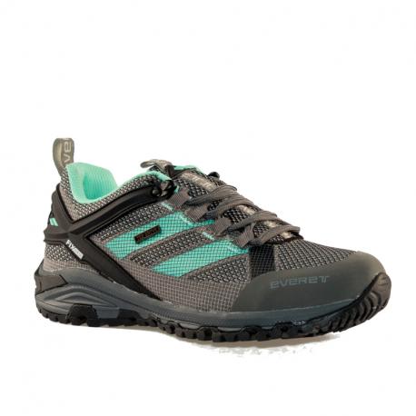 Dámska nízka turistická obuv EVERETT-Tournet W grey/mint