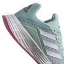 Juniorská sportovní obuv (tréninková) ADIDAS-Duramo SL halo mint / cloud white / screaming pink -