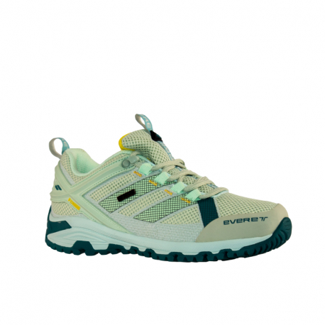 Dámska nízka turistická obuv EVERETT-Tournet W light green/yellow (EX)