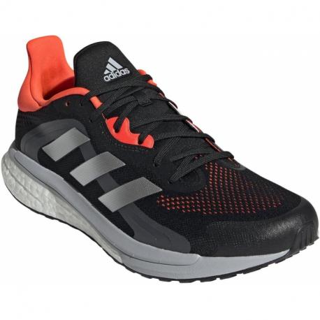 Pánská běžecká obuv ADIDAS-Solar Glide 4 ST M core black / grey two / solar red