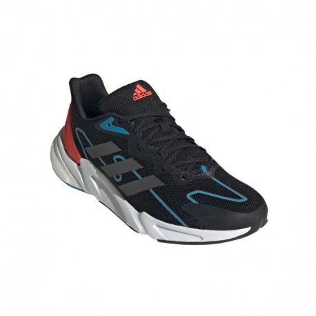 Pánská běžecká obuv ADIDAS-X9000L2 M core black / grey six / solar red (EX)