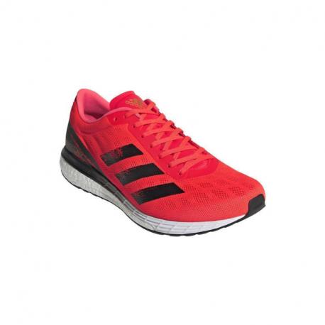 Pánská běžecká obuv ADIDAS-Adizero Boston 9 solar red / core black / gold metallic