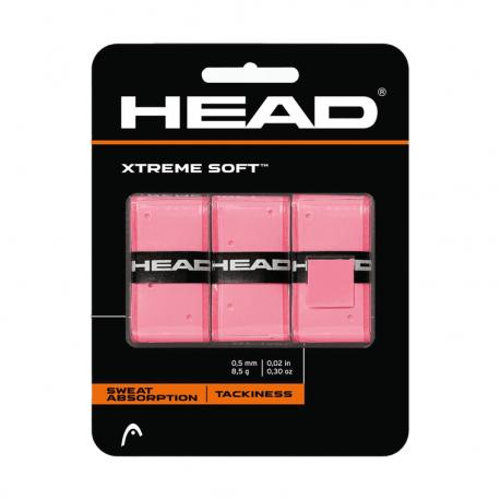 Vrchní omotávka HEAD-Xtreme Soft 3pcs Pack Pink