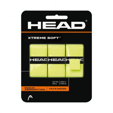 Vrchní omotávka HEAD-Xtreme Soft 3pcs Pack Yellow