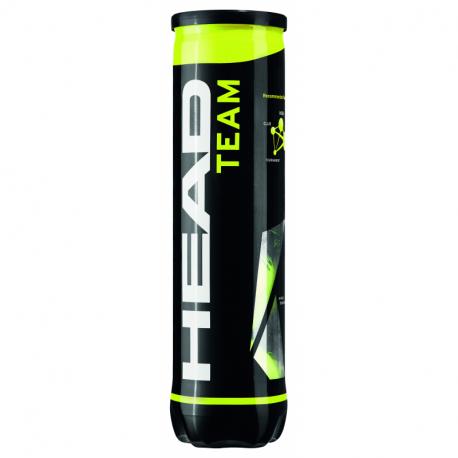 Tenisové míčky 4ks HEAD-TEAM 4B