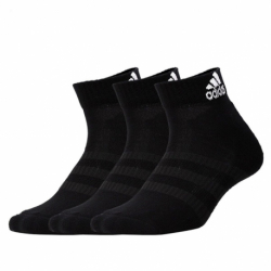 Ponožky ADIDAS-CUSH ANK 3PP-Black-3 pack