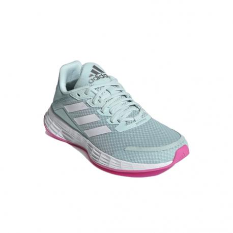 Juniorská sportovní obuv (tréninková) ADIDAS-Duramo SL halo mint / cloud white / screaming pink