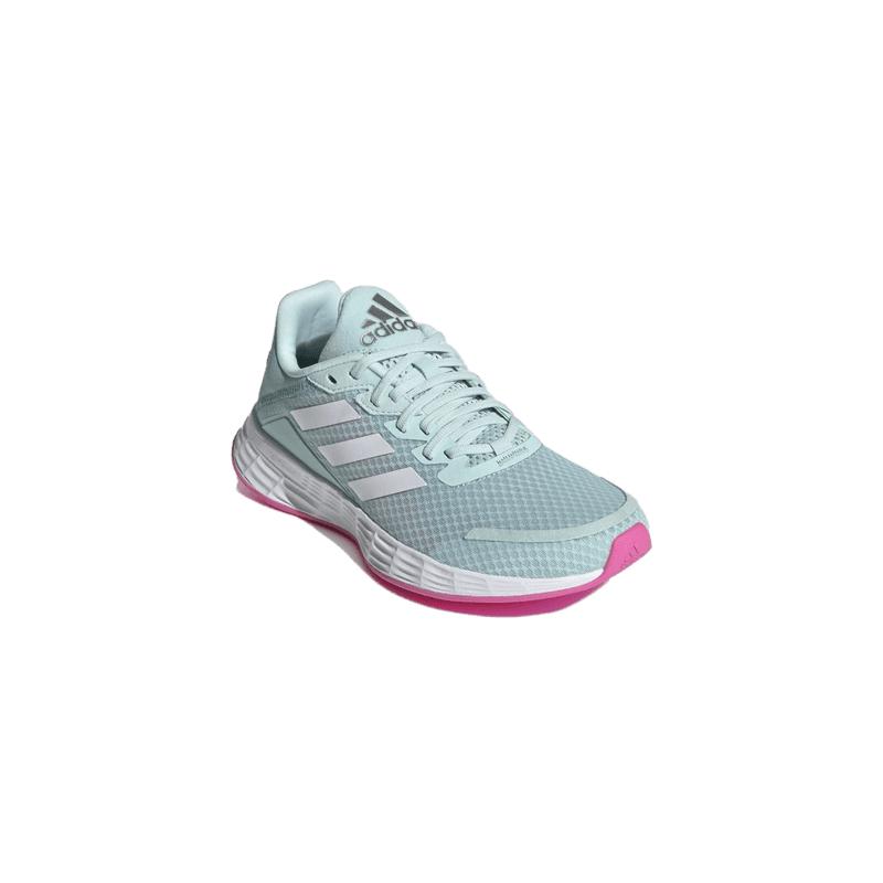 ADIDAS-Duramo SL halo mint/cloud white/screaming pink 40 Zelená