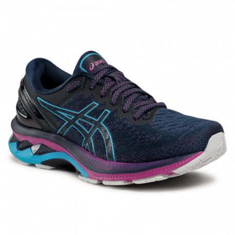 Dámská běžecká obuv ASICS-Gel Kayano 27 french blue / digital aqua