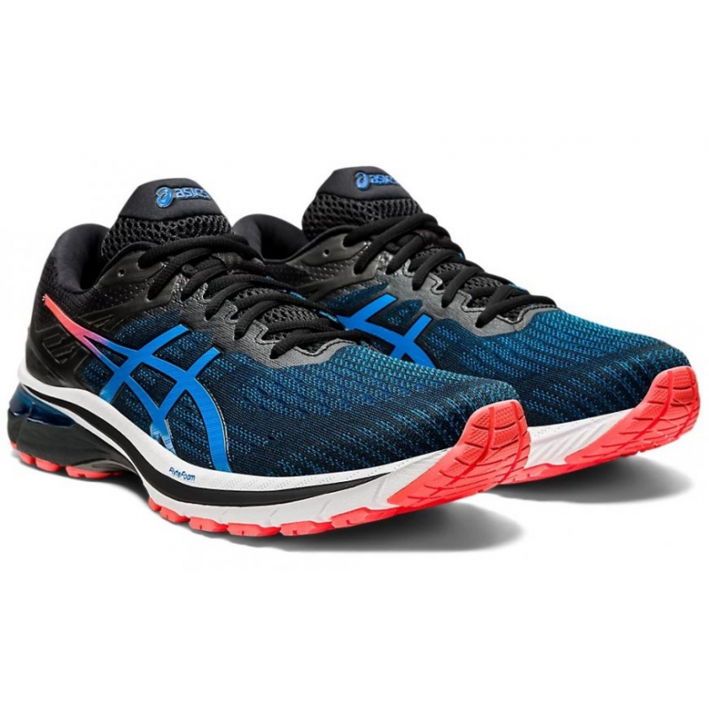 Pánska bežecká obuv ASICS-GT-2000 9 black/directoire blue -
